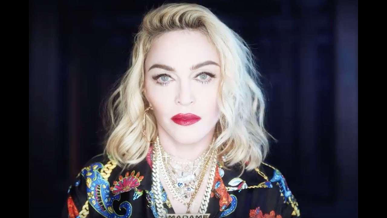 Madonna Drops Her Clothes For This Video And Explains What's 'Wonderful' About Coronavirus - Check Out The Outrageous Message