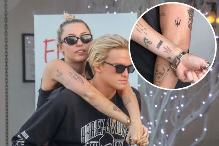 Miley Cyrus And Cody Simpson Get Matching Tattoos - Check Them Out!