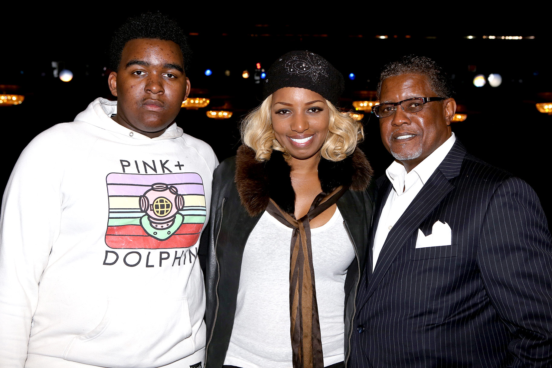 NeNe Leakes And Gregg Leakes Have Fun On Tik Tok With Their Son, Brentt Leakes
