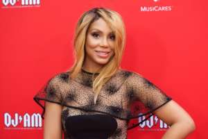 Tamar Braxton Shows It All In This Barely-There Outfit - See The Singer Flaunting Her Curves And Leaving Little To The Imagination