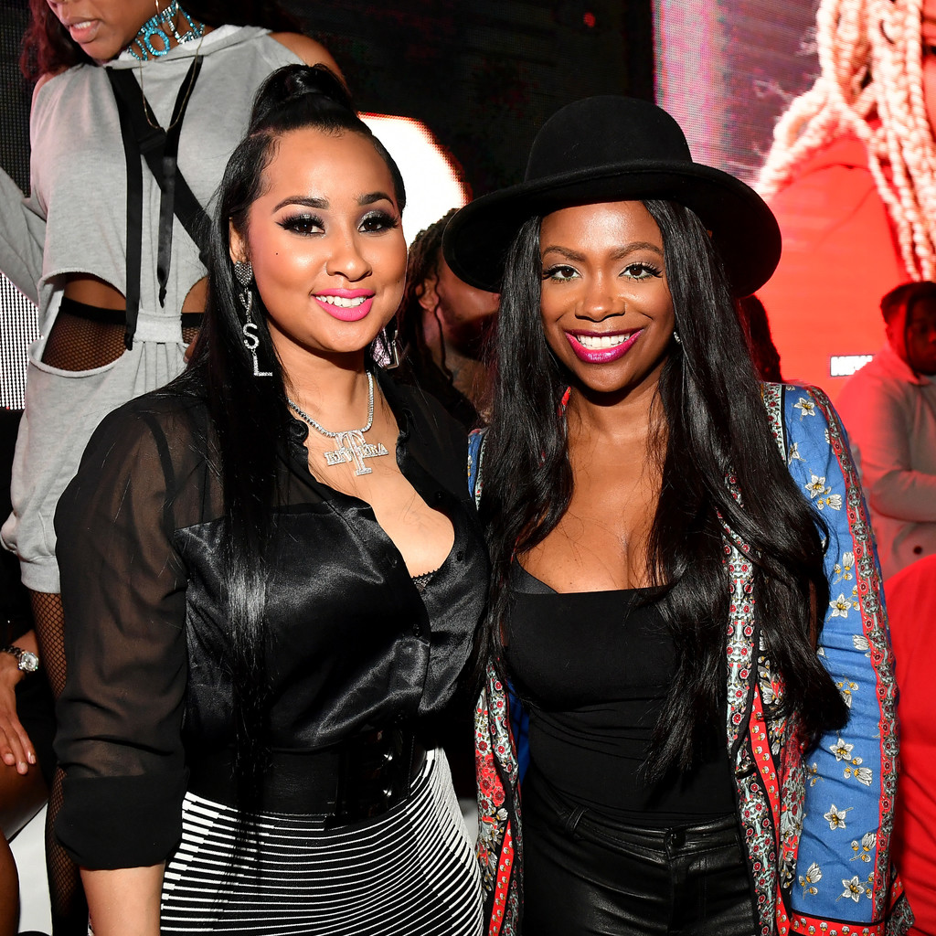 Kandi Burruss And Tammy Rivera Flaunt Jaw-Dropping Outfits