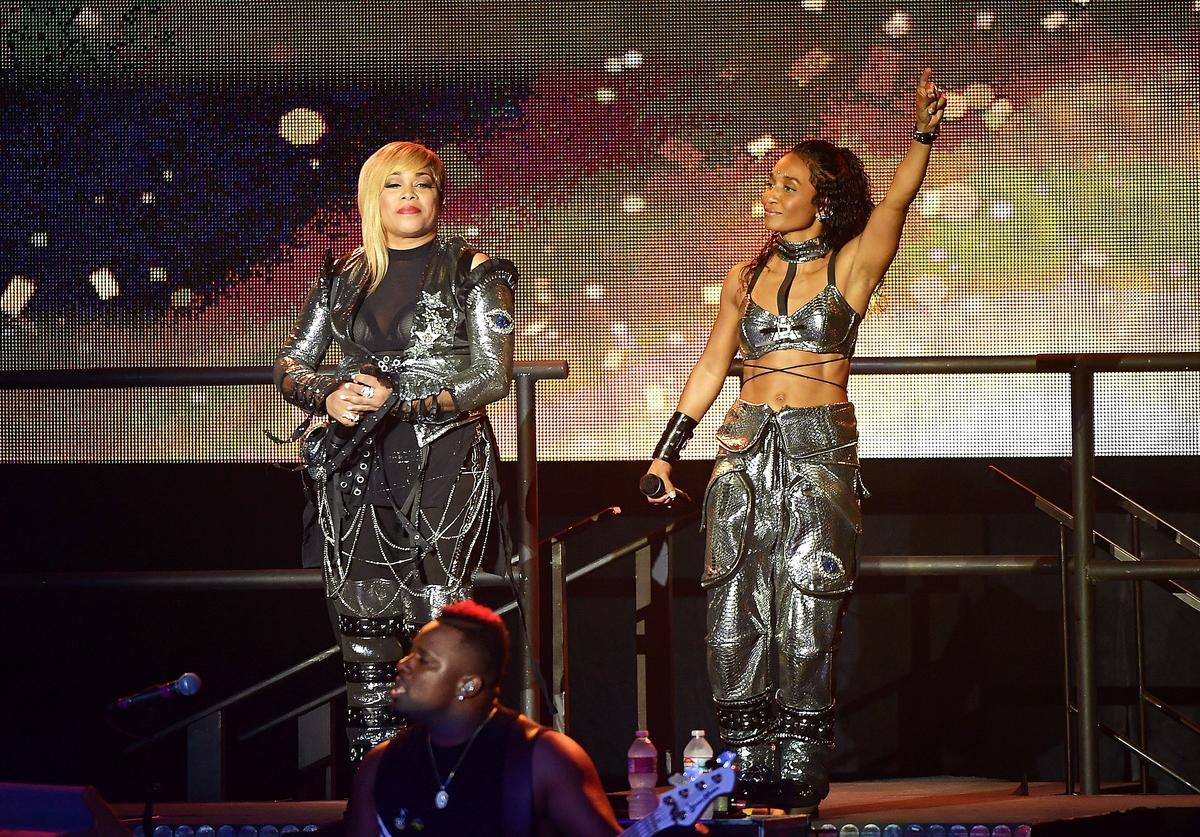Kandi Burruss Celebrates The Birthday Of TLC's Tionne Watkins Aka T-Boz - Check Out Her Message