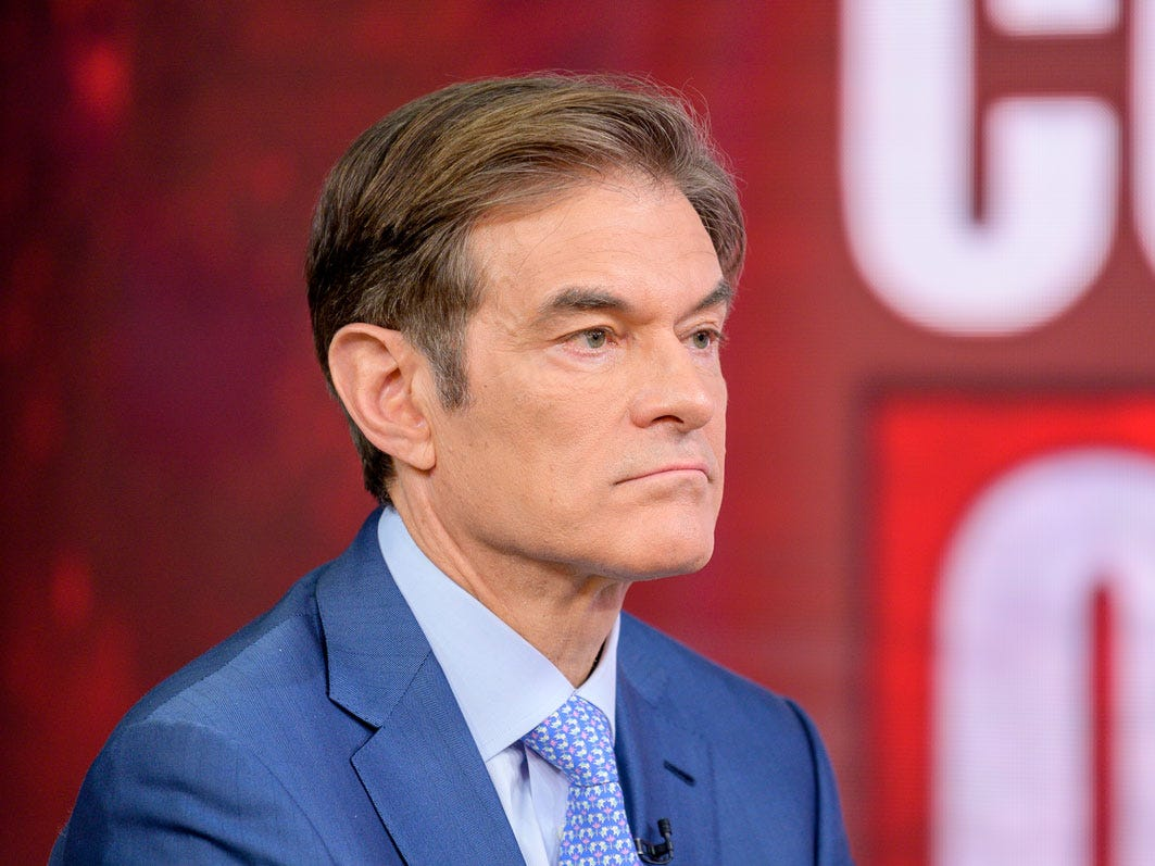Dr. Oz says he 'misspoke' when talking on reopening schools