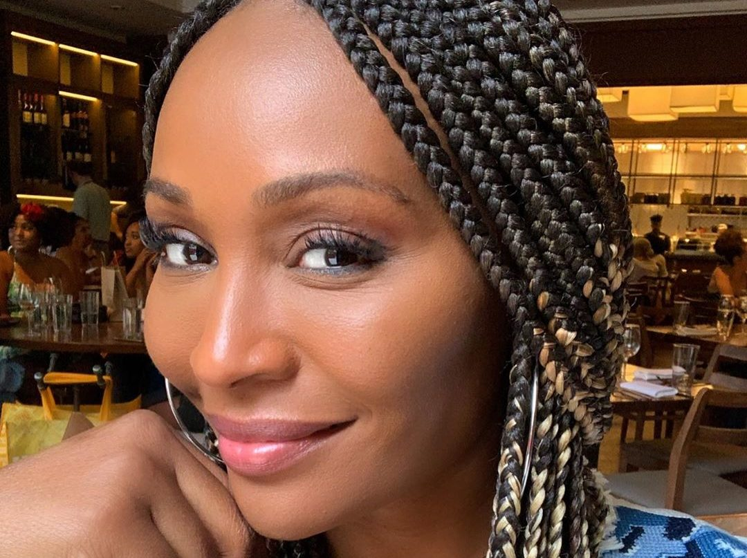 Cynthia Bailey Shows Fans How She'll Walk Back Into Her Life When The Quarantine Is Over