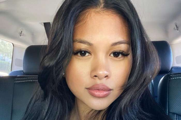 Chris Brown's Baby Mama, Ammika Harris, Is Accused Of Photoshopping Her New Skimpy Bathing Suit Photos For This Ignorant Reason