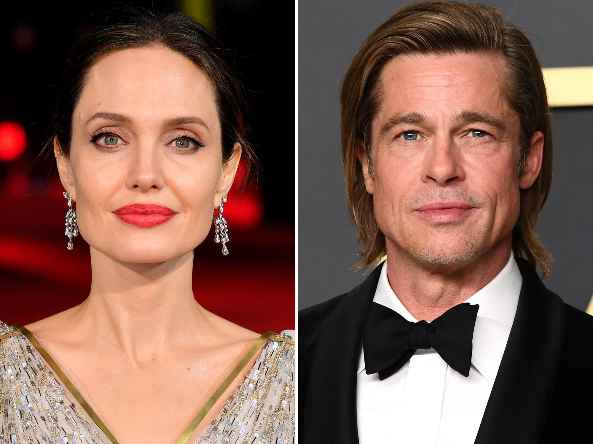 Angelina Jolie Brad Pit Quarantine Children