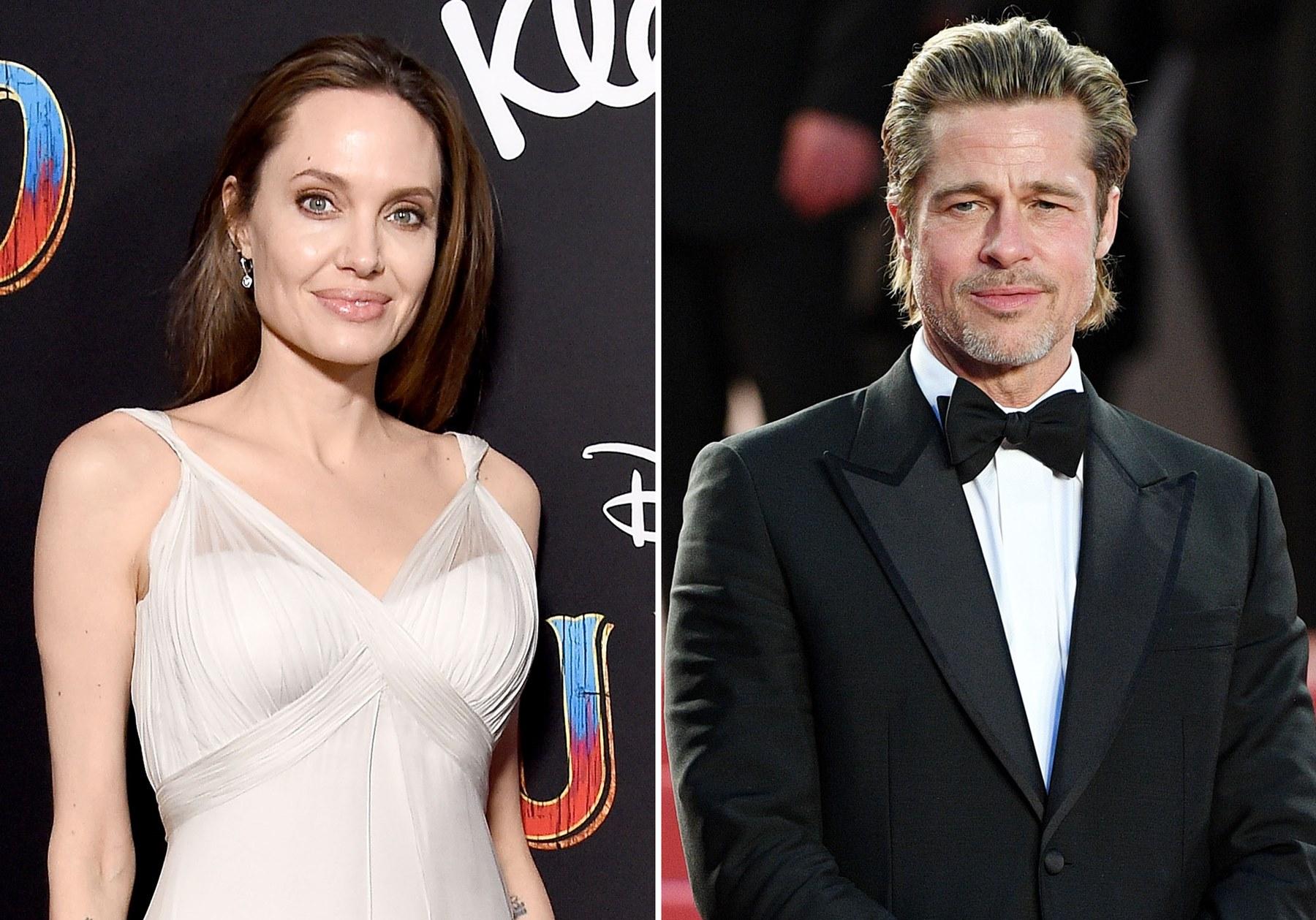 Angelina Jolie Brad Pitt Coronavirus Lockdown