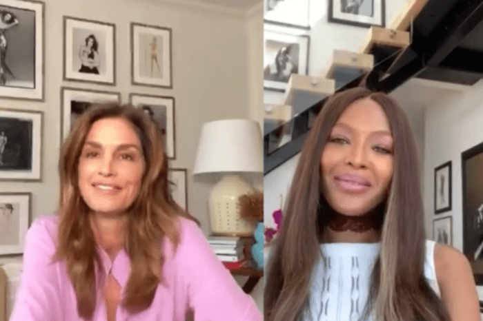 Naomi Campbell Kicks Off Her Show With Cindy Crawford — No Filter With Naomi