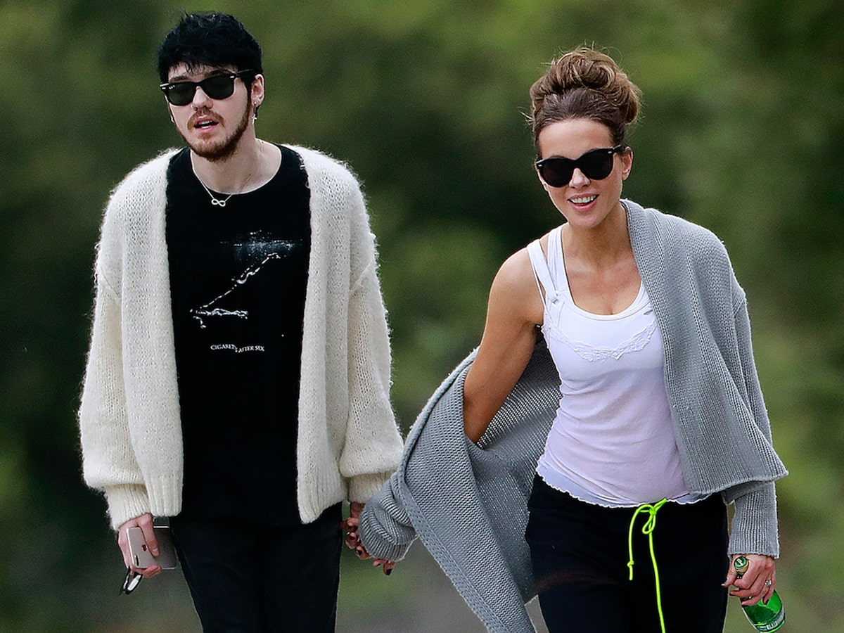 Kate Beckinsale snapped with new boy toy