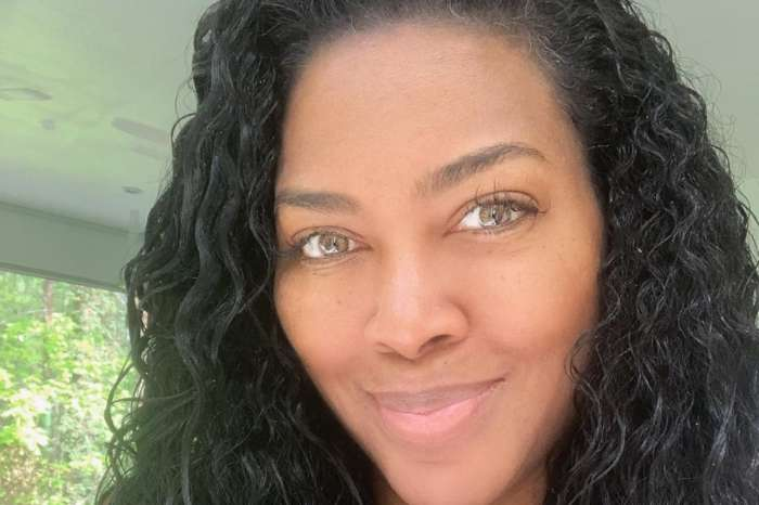 Kenya Moore Looks Hot And Happy One Her Way To Buy Some Groceries - Check Out Her Completely Bare Face In The Video