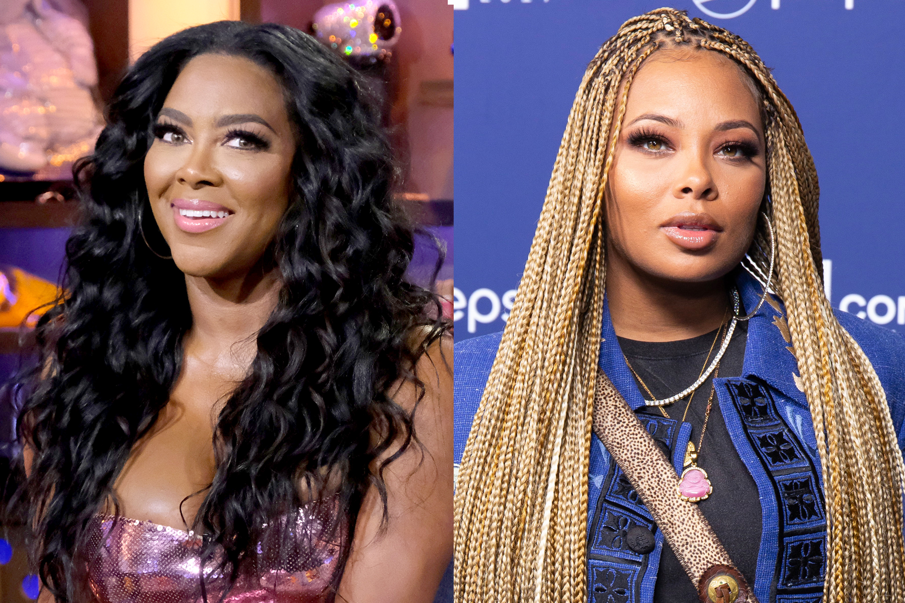 Eva Marcille Accepts Kenya Moore's 'Model Challenge' - See The Photos She Posted