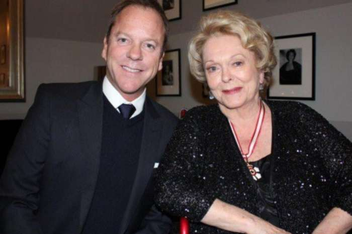 Kiefer Sutherland Pays Tribute To His Mom, Shirley Douglas, After She Passes Away At Age 86