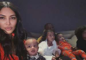 Kim Kardashian Says The Idea Of Baby Number Five Is 'Out The Door' After Self-Isolating With Her Four Kids