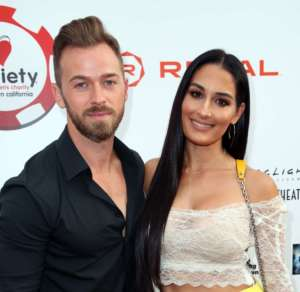 Nikki Bella Says She Might Not Take Artem's Name Because She Can't Pronounce it