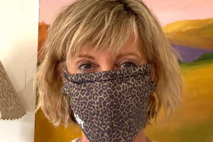 Olivia Newton-John Encourages People To Make Their Own Face Masks During Coronavirus Pandemic