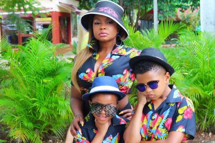 Phaedra Parks Poses With Her Boys And Shares Uplifting Words For Fans