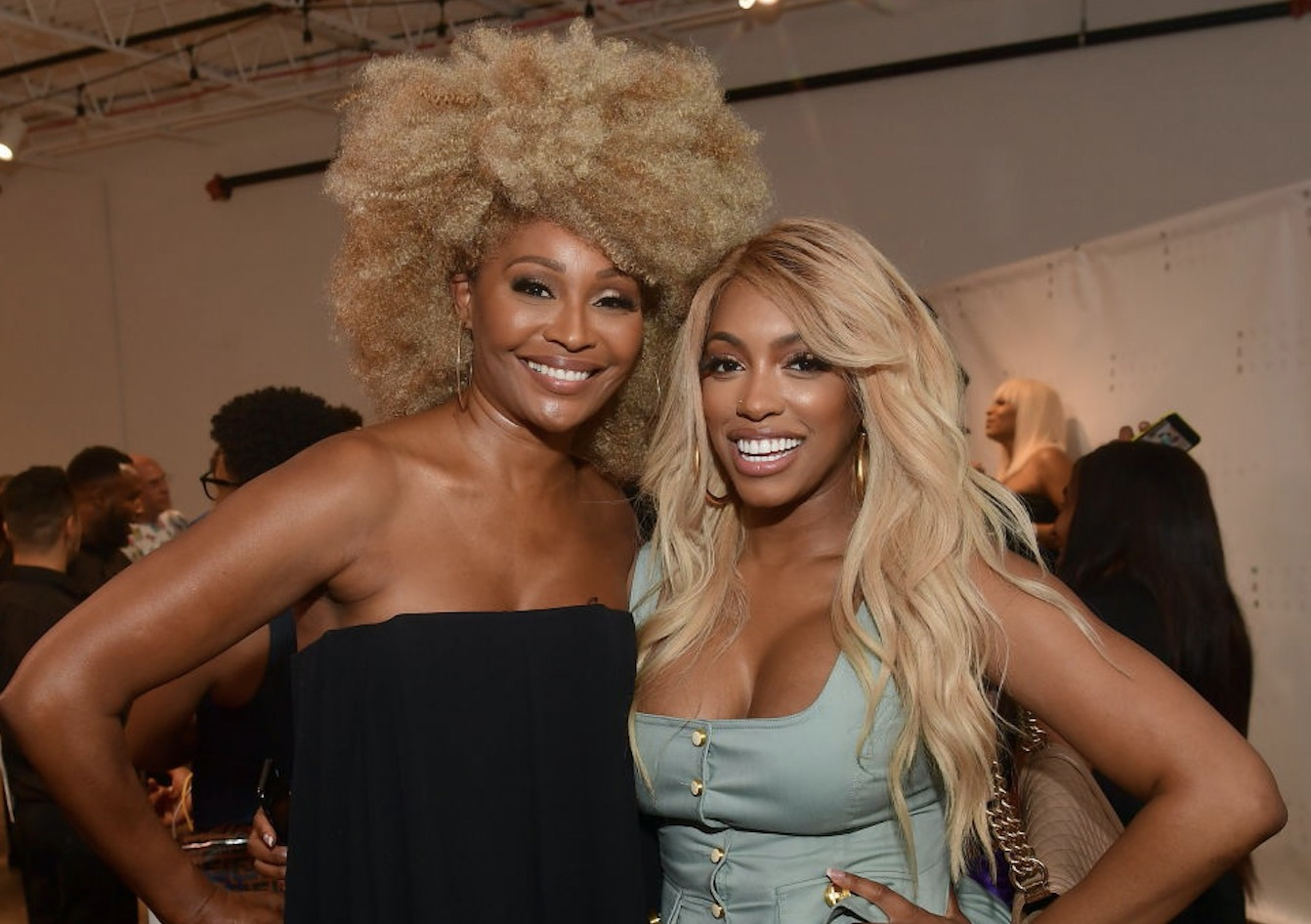 Porsha Williams Tells Cynthia Bailey She's Blessed To Have Found A Man Like Mike Hill