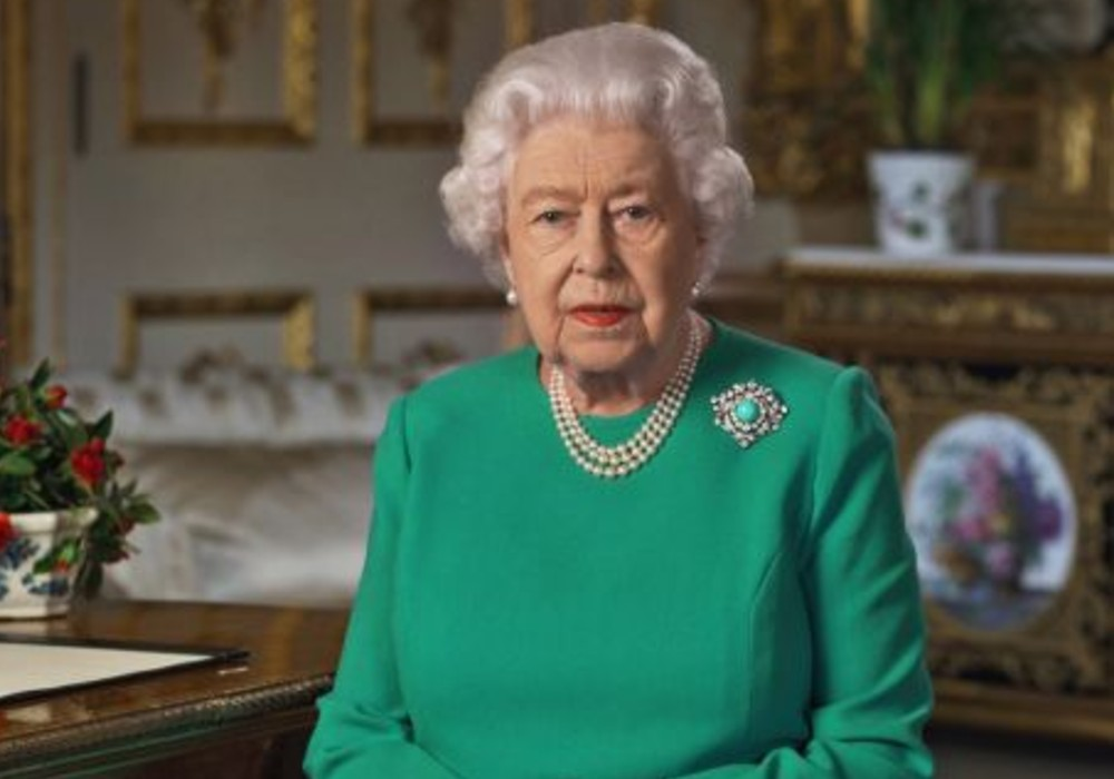 Queen Elizabeth Tells UK Citizens In Historic Televised Address That 'We Will Succeed' In Fighting COVID-19