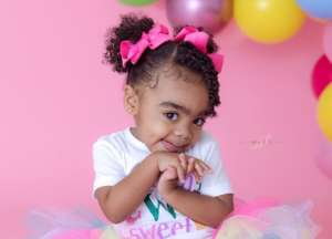 Toya Johnson's Baby Girl, Reigny Rushing Is The Sweetest Kid While Stuffing Her Face With Ice Cream - See The Video