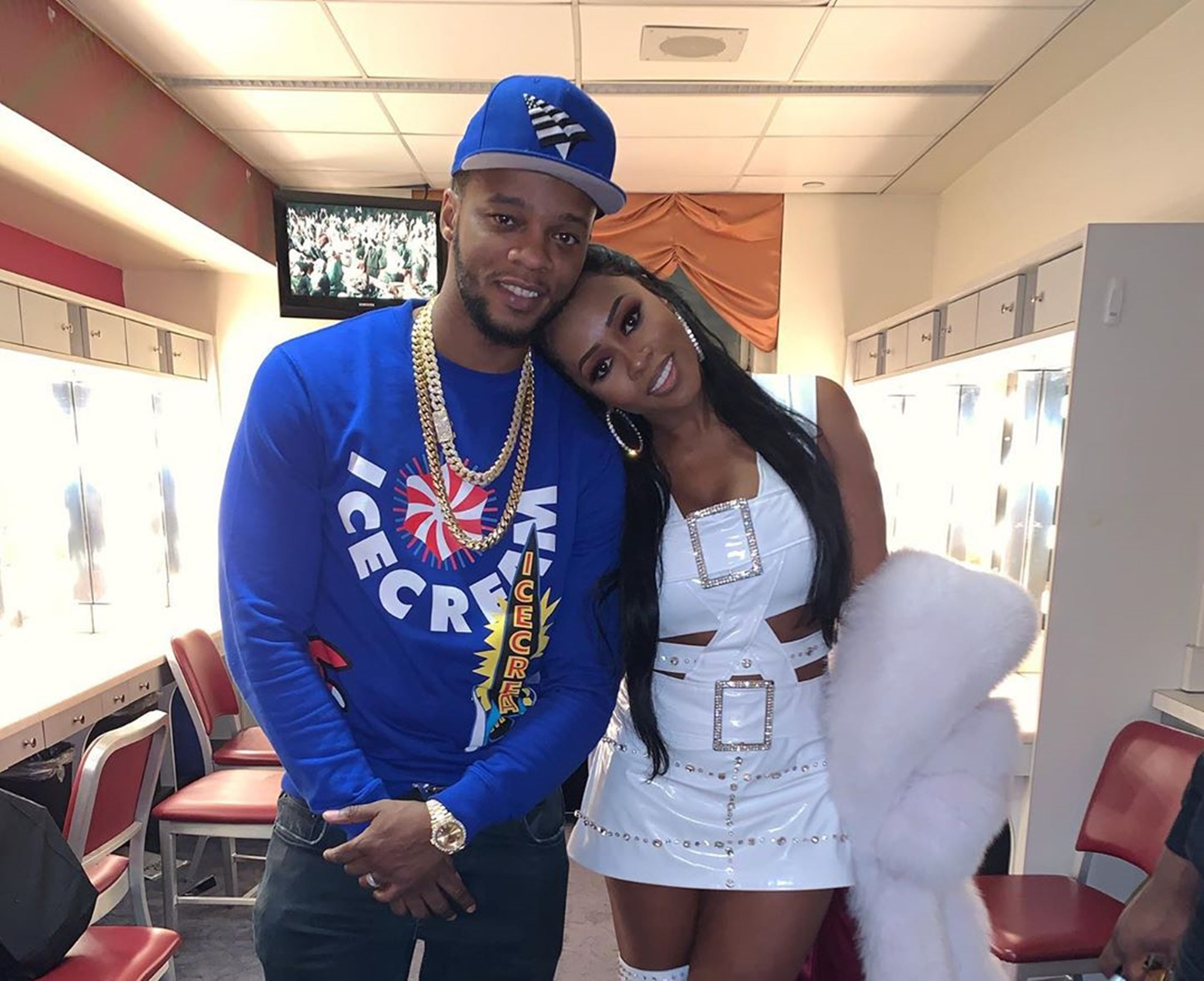 Remy Ma Papoose Quarantine Party For Daughter