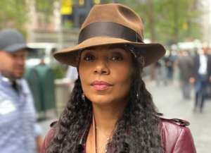 Sanaa Lathan Breaks The Internet With Alluring Sheer Snake Bathing Suit Photos
