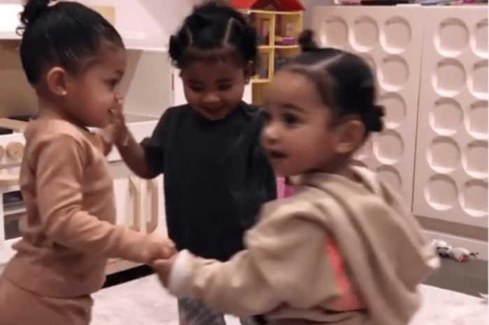 Kylie Jenner Shares Adorable Video Of Chicago West, True Thompson, And Stormi Webster As Social Distancing Has Her Missing Her Nieces