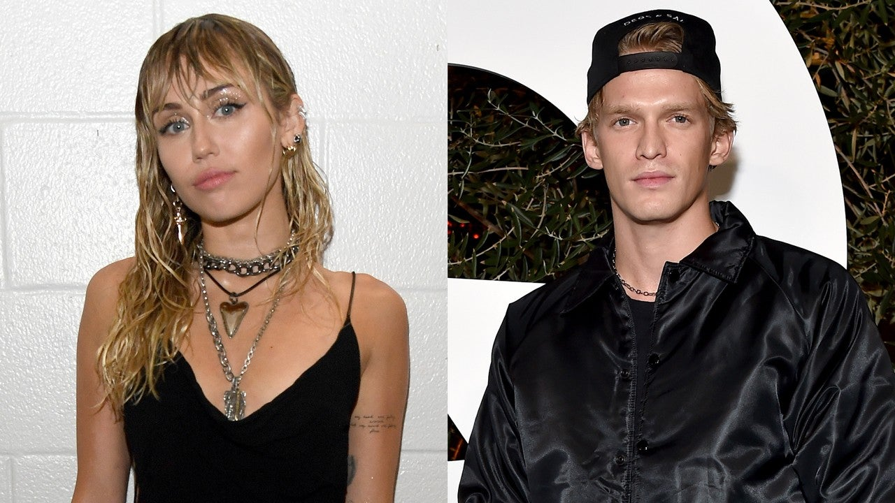 Miley Cyrus Shaves Boyfriend Cody Simpson's Head During Quarantine