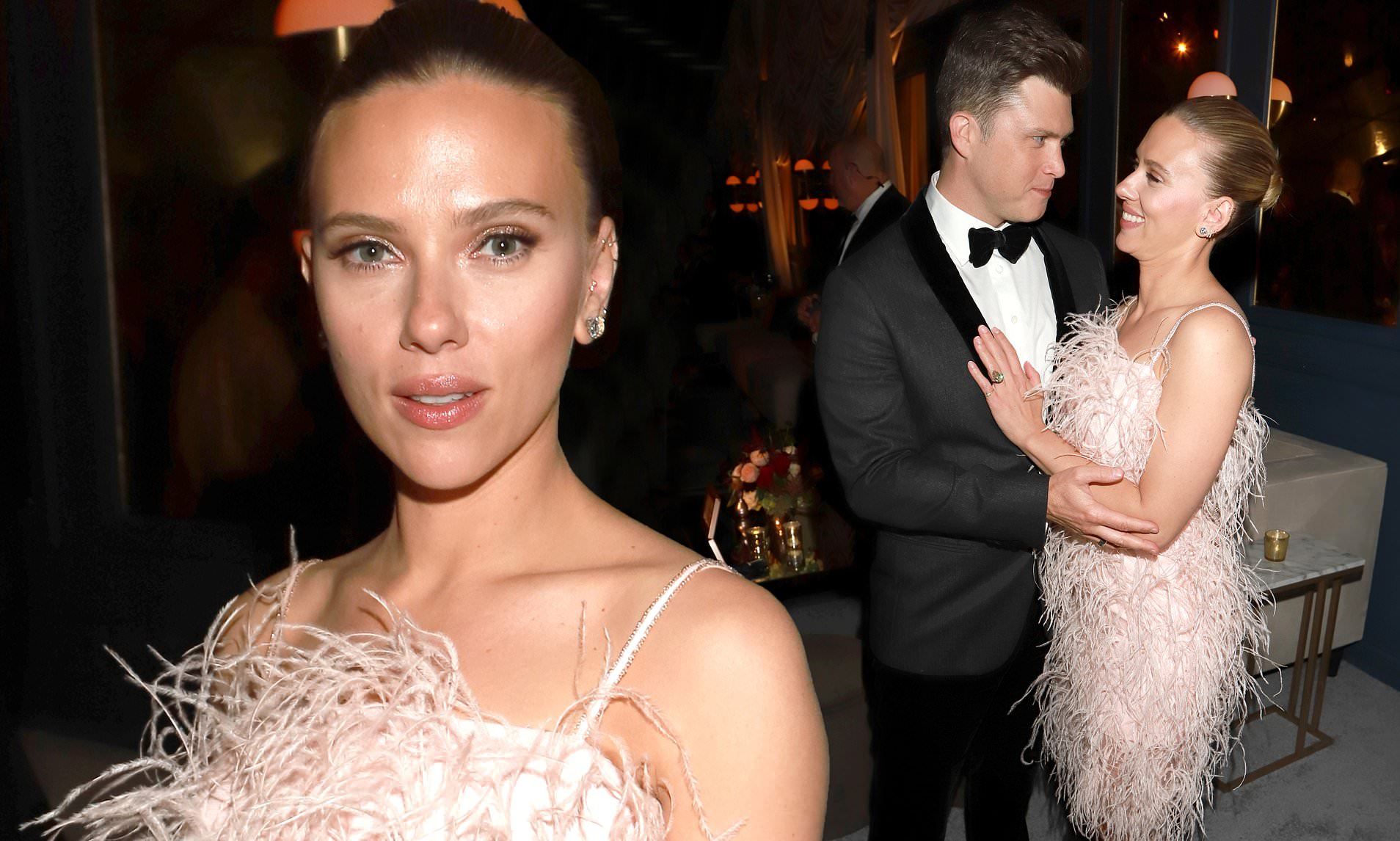 Scarlett Johansson Gushes Over Fiance Colin Jost And Opens Up About What First Drew Her To Him Celebrity Insider