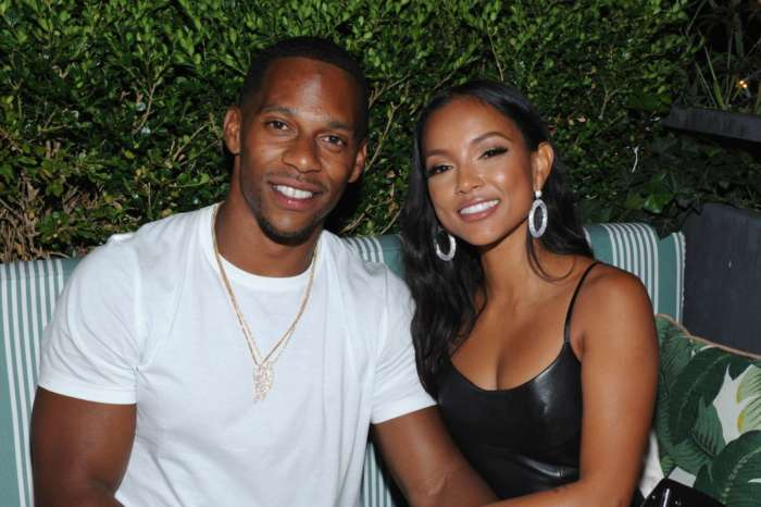 Victor Cruz Gives Karrueche A Birthday Shoutout - People Bring Up Chris Brown Who Praised Ammika Harris For Her Own Anniversary