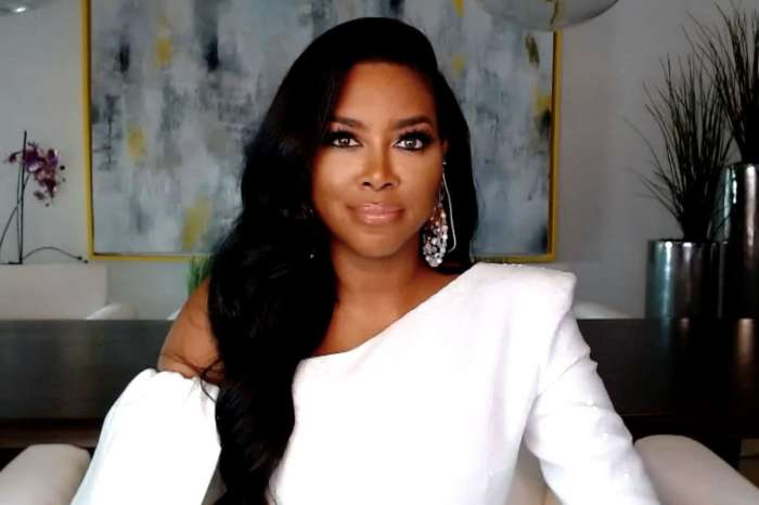 Kenya Moore Stuns In A Yellow Dress With A Deep Cut - Check Out The RHOA Star's Look