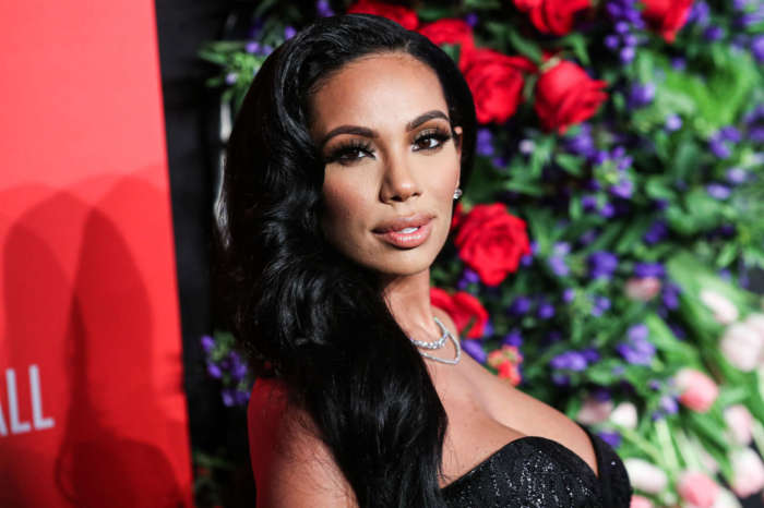 Erica Mena Shows Fans How She's Sculpting Her Body At Home