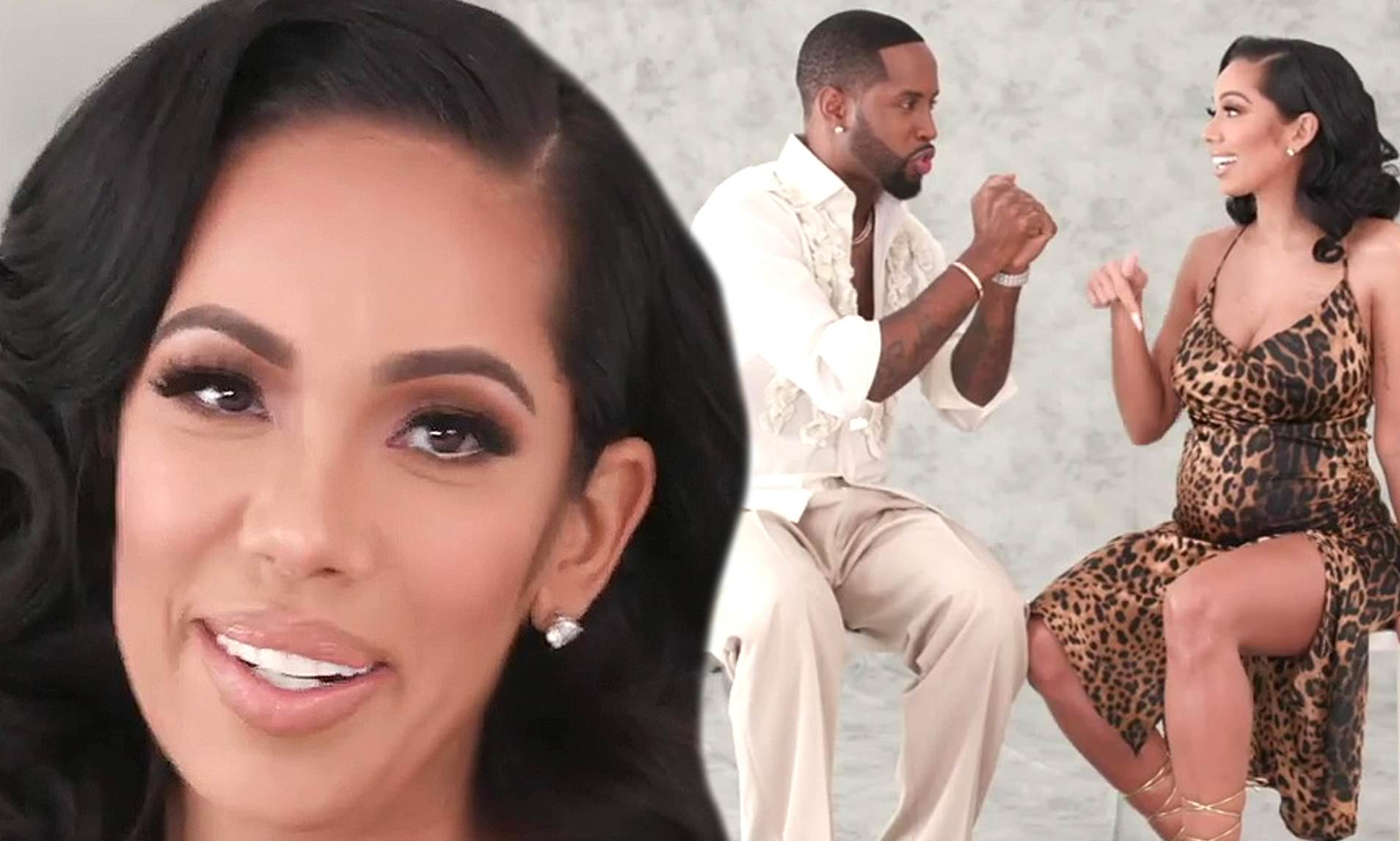 Safaree Pens An Emotional Message For Erica Mena And Manages To Impress Her