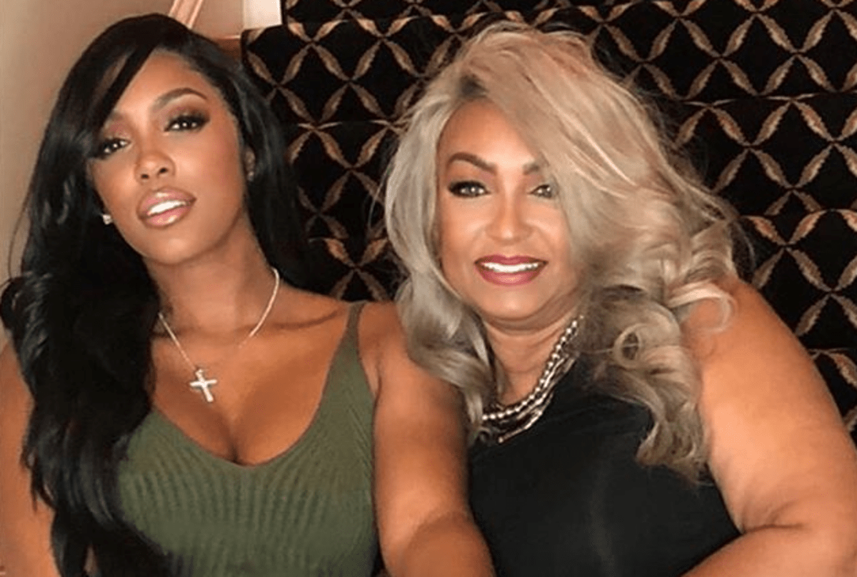 Porsha Williams' Video Featuring Her Mom, Diane Flaunting Her Best Assets While Riding The Bike Has Fans In Awe