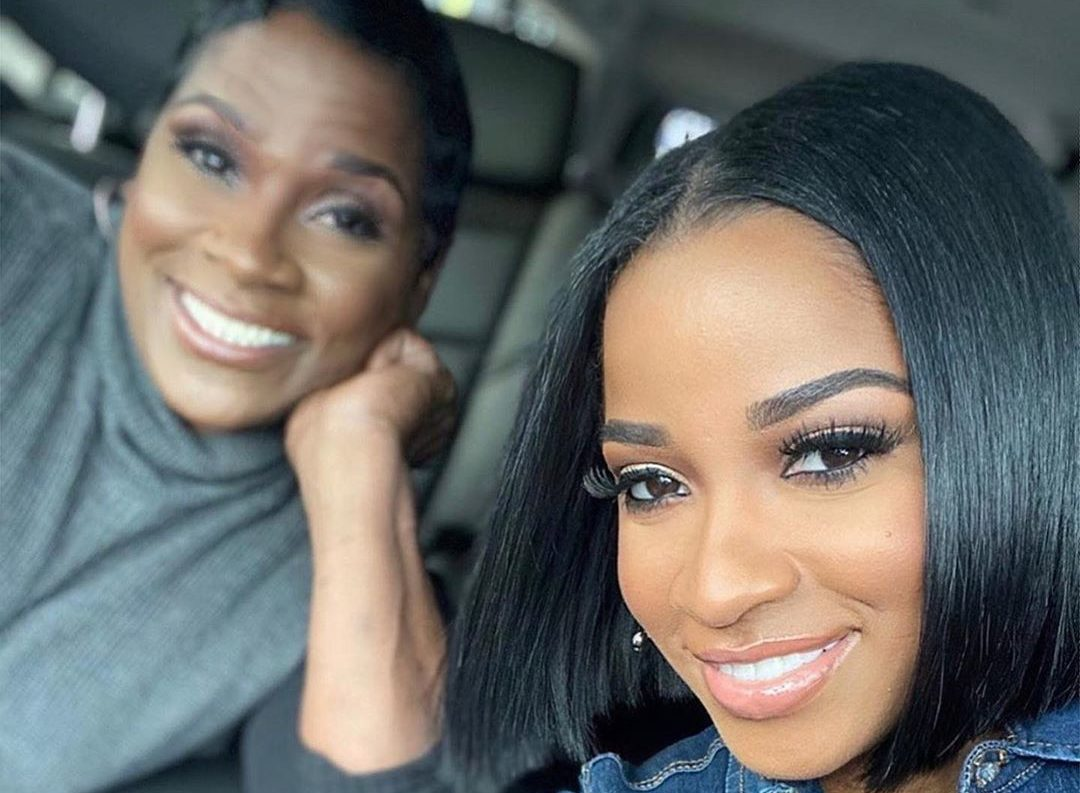 Toya Johnson Kicks Off Mother's Day Week With Her Family In The Kitchen, Cooking One Of Her Mom's Favorite Dishes