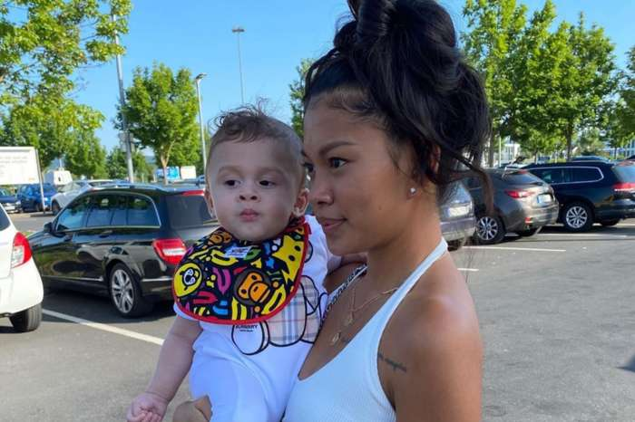 Chris Brown's Baby Boy, Aeko Brown, Is Already Protective Of His Mother, Ammika Harris, In New Outdoor Photos