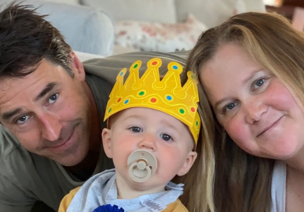 Amy Schumer And Chris Fischer Celebrate Son Gene's First Birthday With A Party At Home