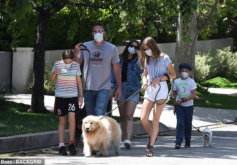 Ben Affleck & Ana De Armas Take Their Relationship To The Next Level As They Are Spotted On An Outing With His Kids
