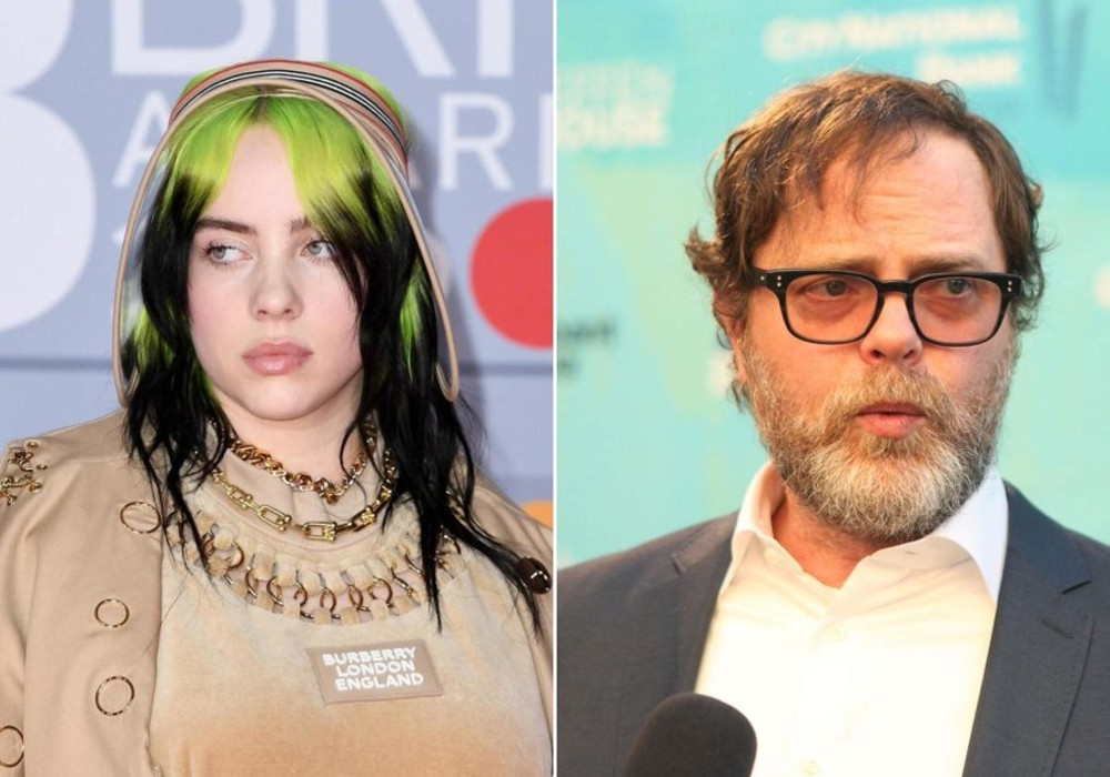 """billie-eilish-is-obsessed-with-the-office-but-rainn-wilson-says-its-time-to-move-on-to-a-new-show"""
