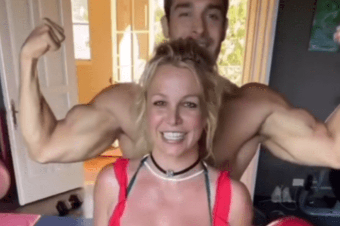 Britney Spears Is Reunited With Her Love Sam Asghari After Coronavirus Separated Them