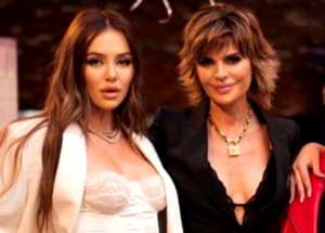 Lisa Rinna And Model Daughter Delilah Belle Hamlin Slammed For Dancing Together In Sheer Dresses