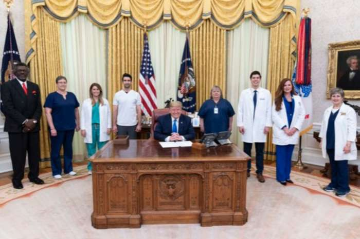 President Donald Trump Issues Proclamation On National Nurses Day In Midst Of Coronavirus Pandemic