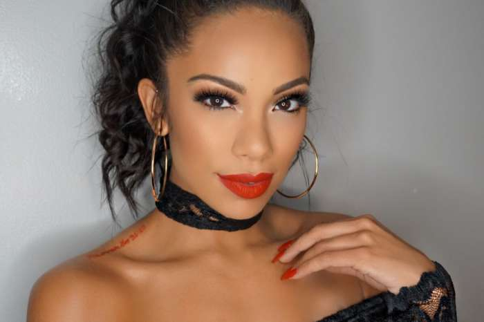 Erica Mena Drops Her Clothes To Flaunt Her Generous Curves In This Fashion Nova Skimpy Swimsuit
