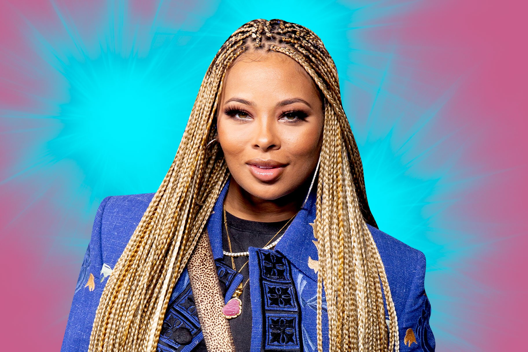 Eva Marcille Praises Mike Sterling Who Fights For Equalitly