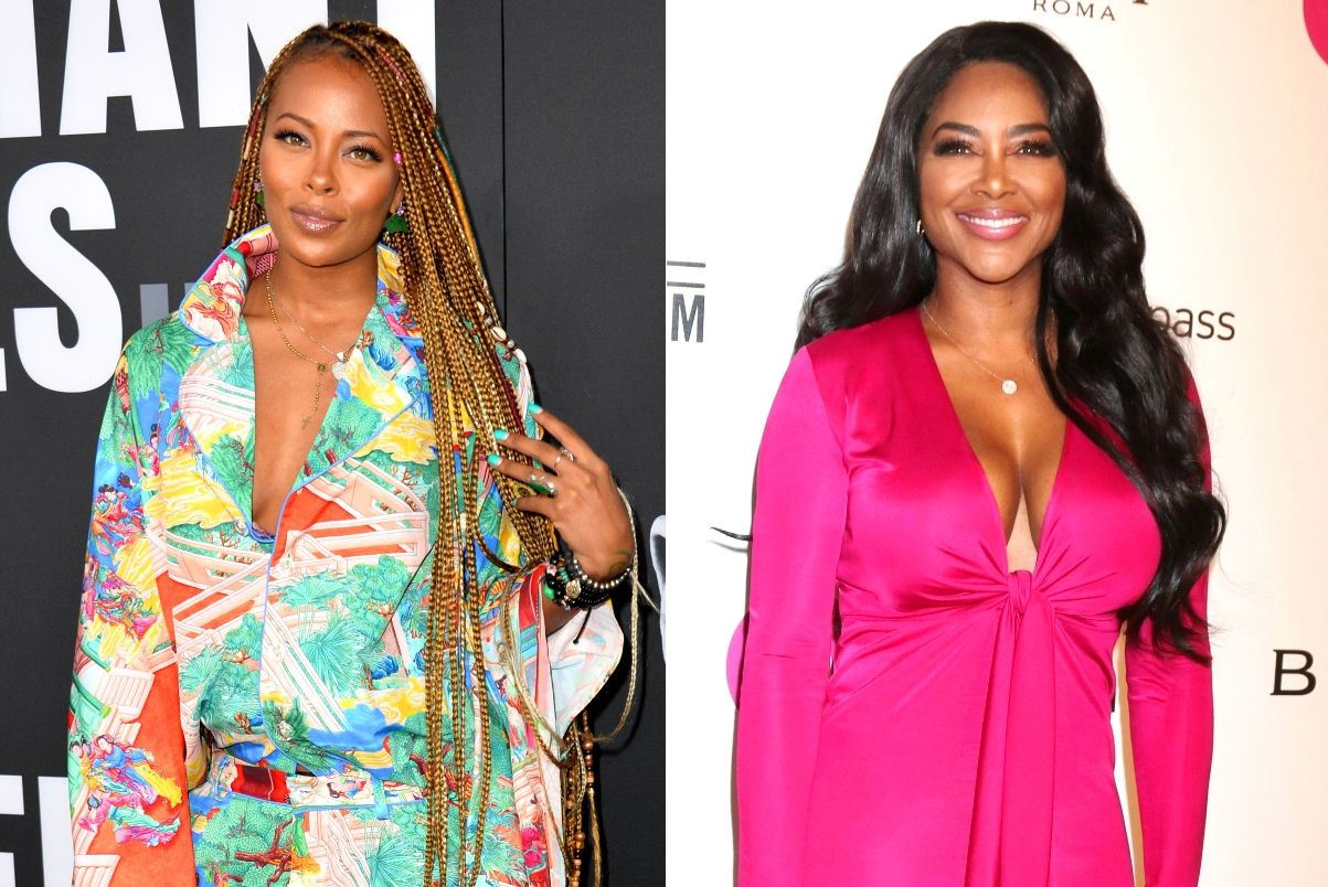 Eva Marcille's Latest Post On IG Triggers A Massive Lockdown-Related Debate And Gets Kenya Moore Upset