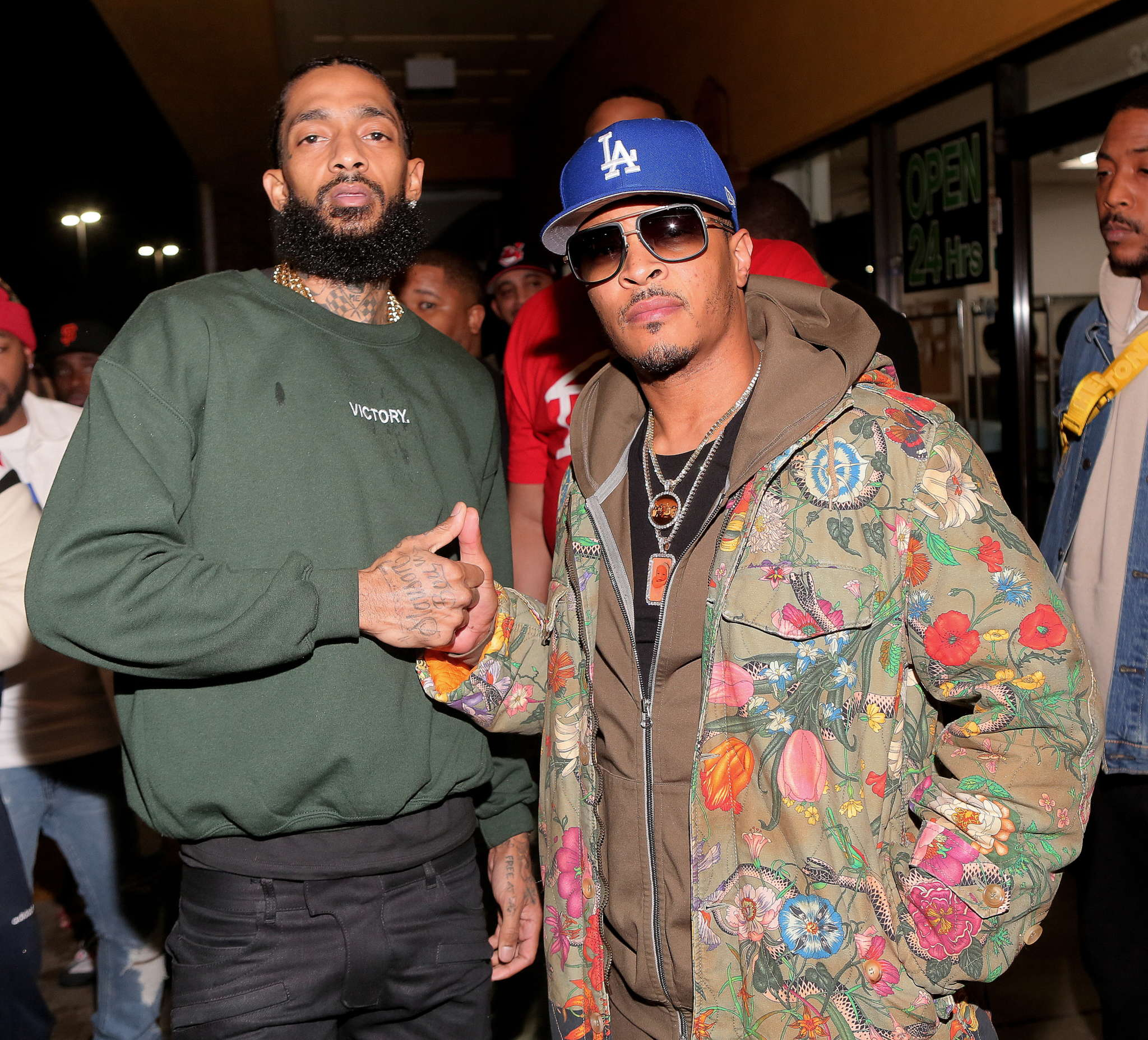 T.I. Misses Nipsey Hussle Like Crazy - Check Out The Inspiring Video That He Shared