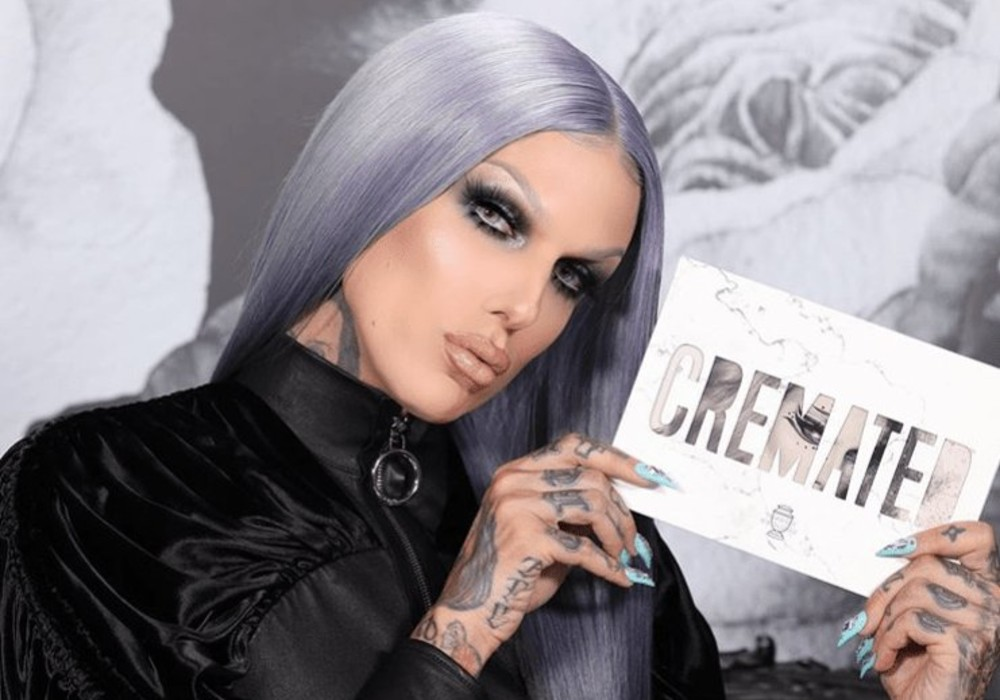 Jeffree Star Responds To Criticism Over His New 'Cremated' Eyeshadow Palette