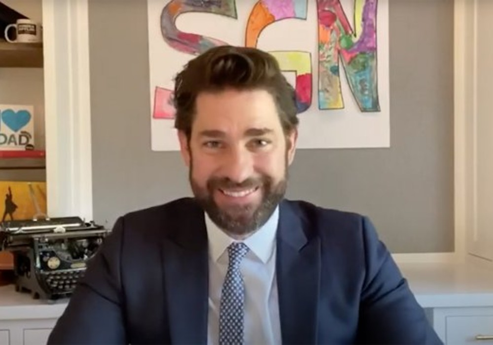 John Krasinski Sells 'Some Good News' To CBSViacom And Fans Are Accusing Him Of Selling Out
