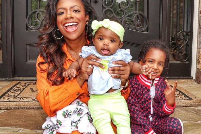 Kandi Burruss Cozies Up In Bed With Husband Todd Tucker And Son Ace Along With Daughter Blaze In Adorable New Photo