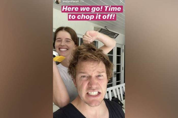 Katherine Schwarzenegger Gives Husband Chris Pratt A Haircut While In Quarantine