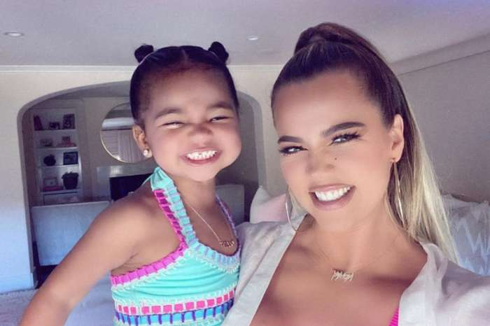 Khloe Kardashian Shares Darling Photo Of Sweet Daughter True Thompson In The Pool With Ponytails